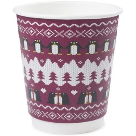 12oz Penguin Cup