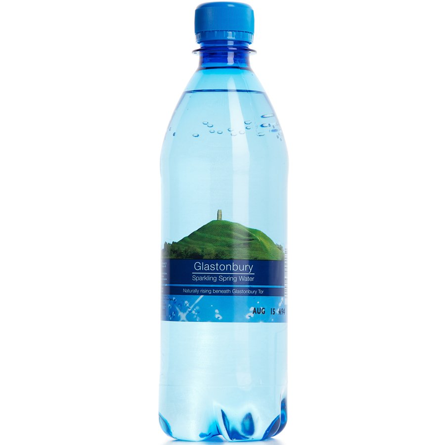 Plastic Bottled Spring Water 500ml Glastonbury Spring