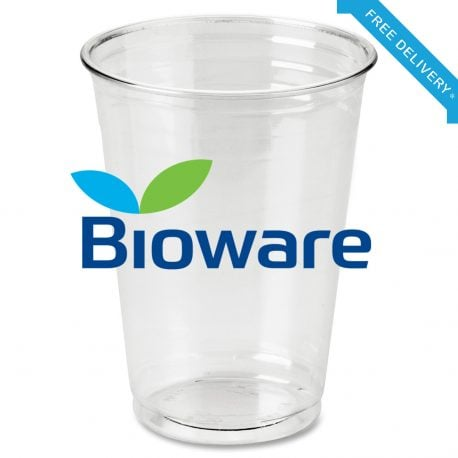10oz Biodegradable Cups Bioware Biodegradable Water Cups Cold Cups
