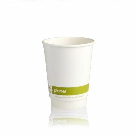 Biodegradable Paper Cups 8oz PLA
