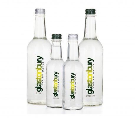 Glass Bottled Spring Water 330ml