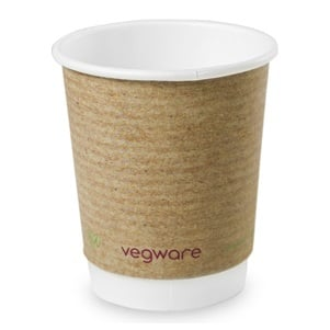 Vegware 8oz Kraft Cup